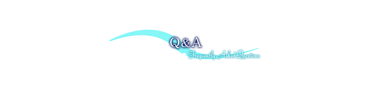 Q&A Frequently Asked Questions