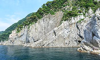 写真 あみかけ岩